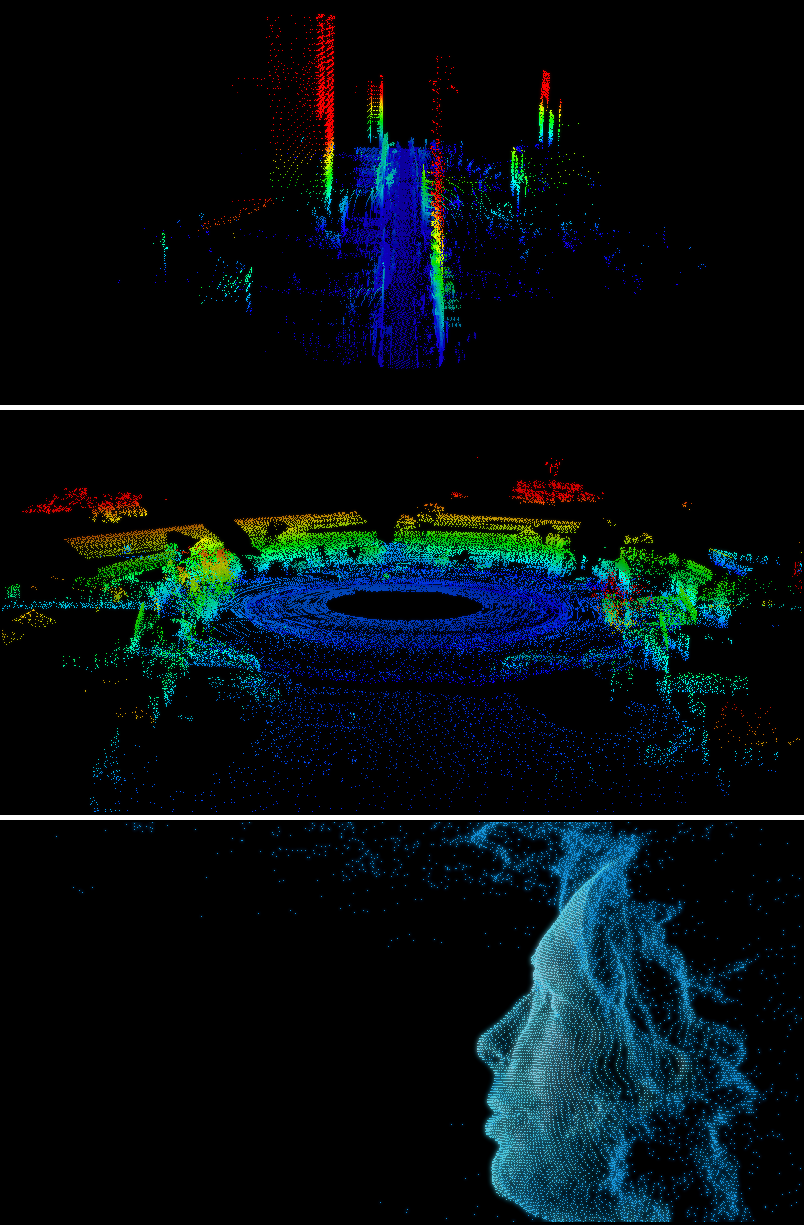Artistic Images from Laser Scanner
