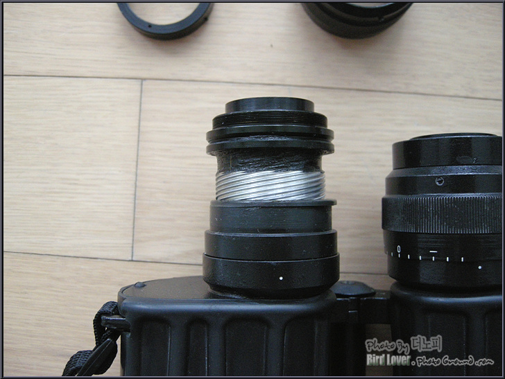BPOc 7x30, 쌍안경 사용기 및 접안부 수리