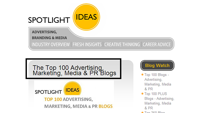 마케팅, PR, 미디어, 광고 블로그 TOP 10