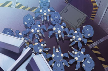 Tachikoma Discussing