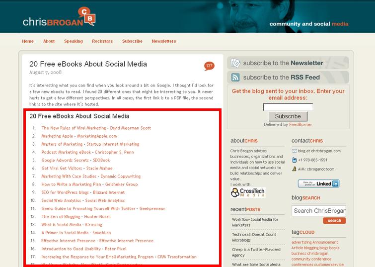 Social Media Blog