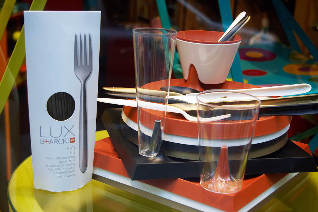 LUX Line silverware, designed by Philippe Starck