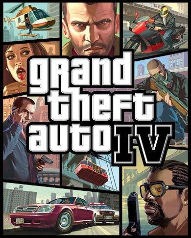 Cover image of GTA4, or Grand Theft Auto 4