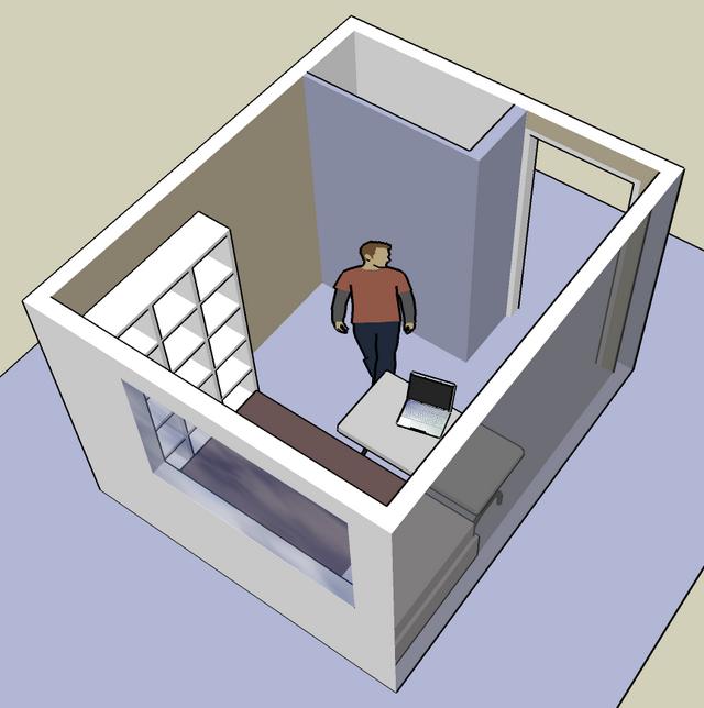 구글 스케치업 - 내 방 3