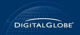 디지털글로브(Digital Globe)사 로고