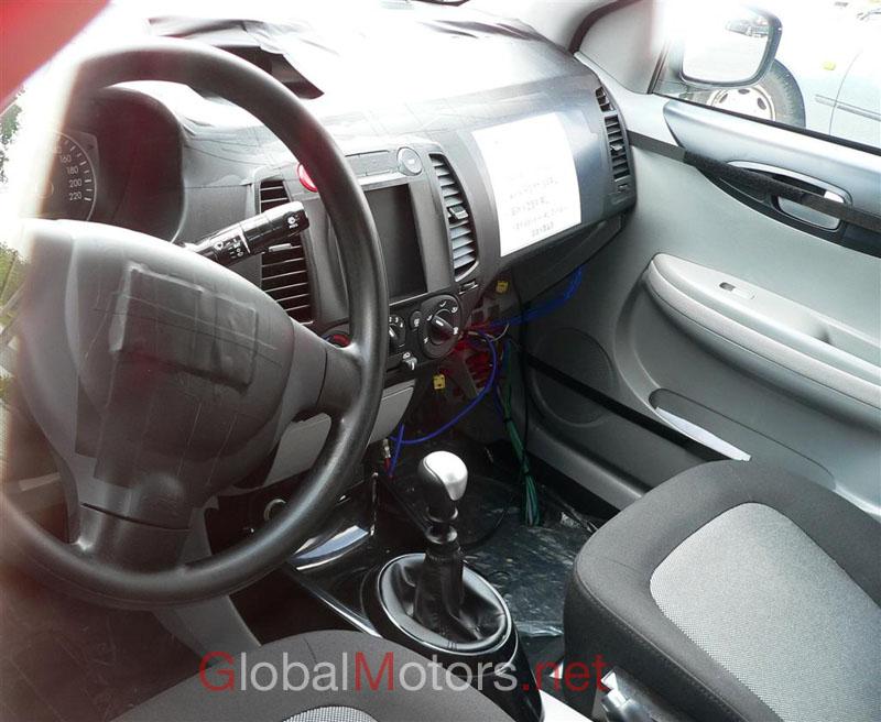 Hyundai i-20 spyshot