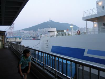 후쿠오카 자유여행(1.선상에서)