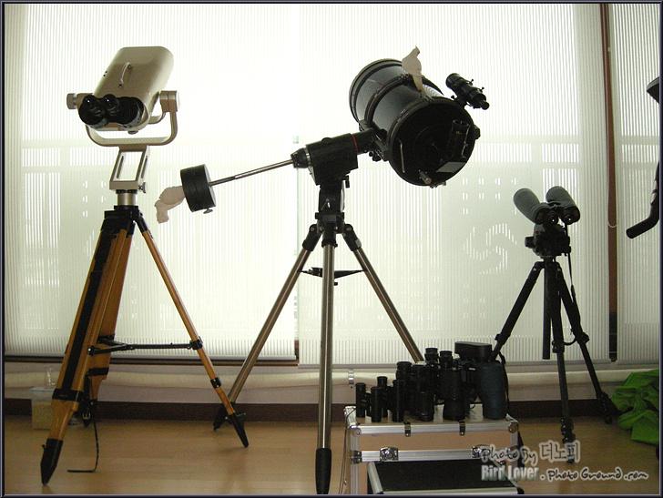 새로운 쌍안경 영입 (BPOc 7x30) 기념 촬영