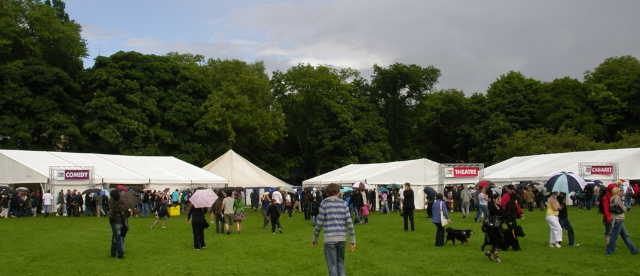 The Meadow, Edinburgh, in Fringe Festival