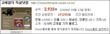 고재열의 독설닷컴