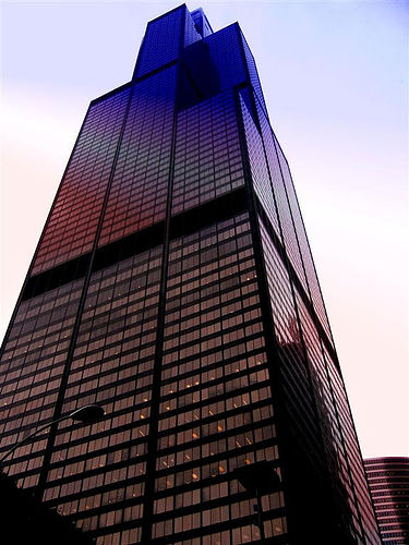 가까이에서 본 Sears Tower Chicago