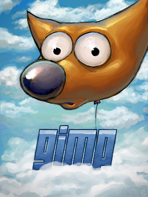 Original Gimp Splash