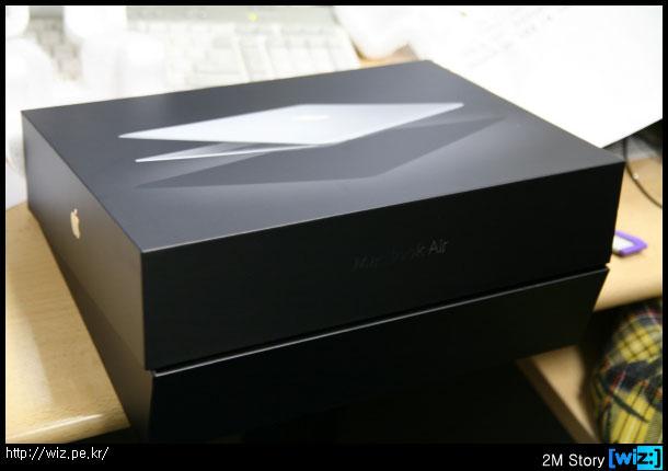 맥북 에어(Macbook Air) 박스
