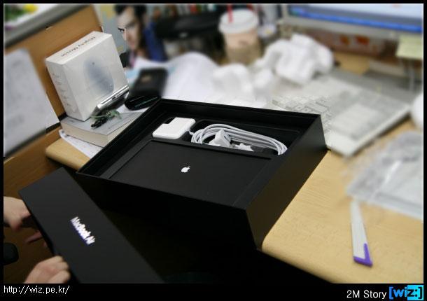 맥북 에어(Macbook Air) 박스 구성