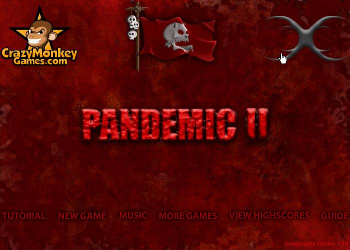 pandemic 2 시작화면