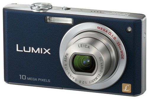 Panasonic LUMIX DMC-FX35 (Wide angle 25mm)