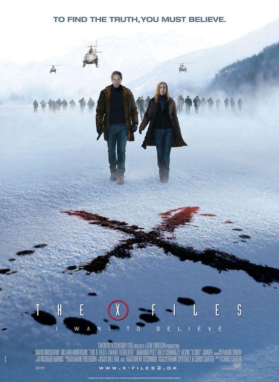 엑스 파일(The X-Files: I Want To Believe) - 고화질 예고편 및 포스터 공개