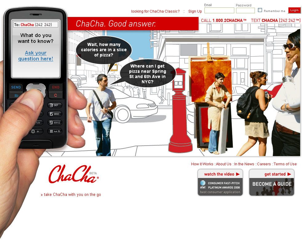 ChaCha, Human-powered Search Engine