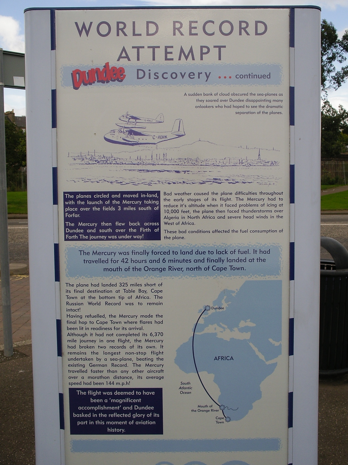 History of Dundee - World Record Attempt