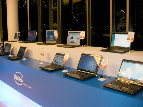 인텔 센트리노2 프로세서 기술 발표회