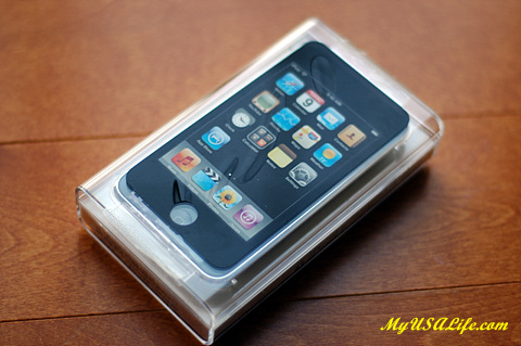 iPod Touch in case