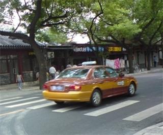 베이징의 택시는 대부분 '엘란트라'다.