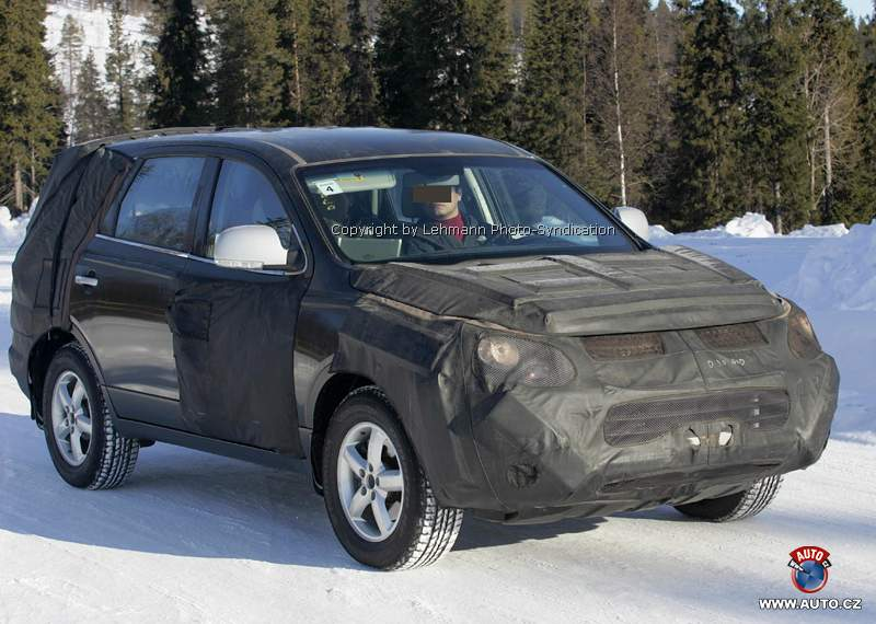 Hyundai Veracruz (EN) spyshot
