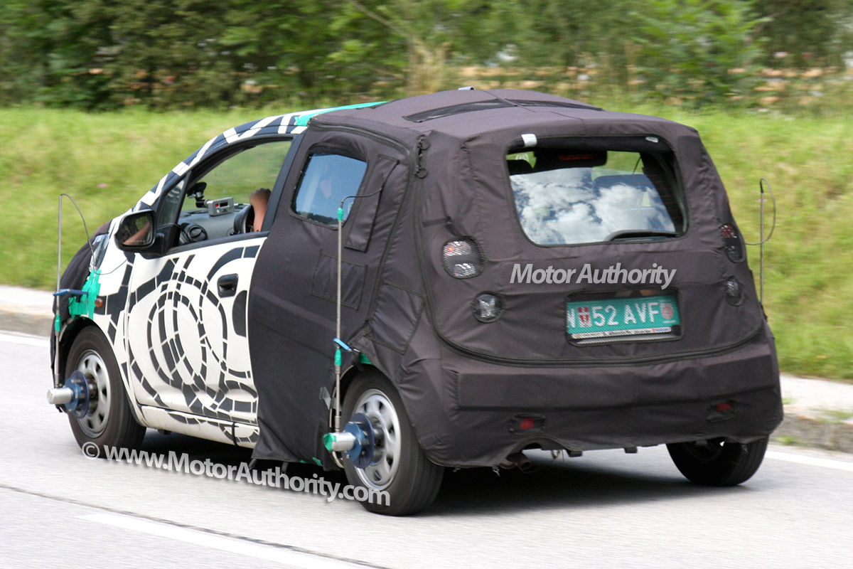 2010 Chevrolet Beat spyshot