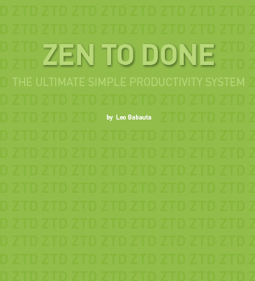 Zen To Done: The Simple Productivity E-Book